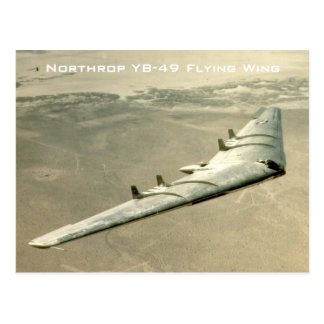 Carte Postale Aile de vol de Northrop YB-49