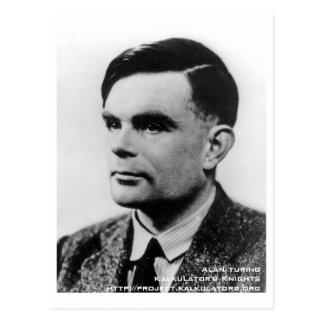 Carte postale Alan Turing