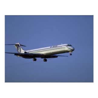 Carte Postale Alaska Airlines MD-80