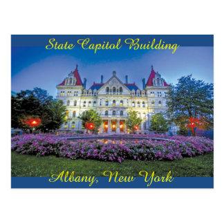 Carte Postale Albany, bâtiment de capitol de NY
