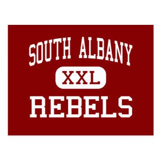Carte Postale Albany du sud - rebelles - haut - Albany Orégon