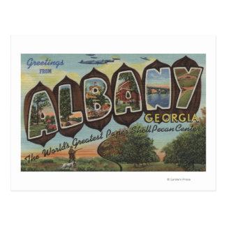 Carte Postale Albany, la Géorgie - grandes scènes de lettre