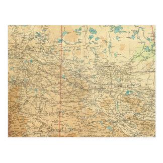 Carte Postale Alberta et Saskatchewan