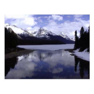 Carte Postale Alberta les Rocheuses, Canada