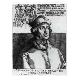Carte Postale Albrecht de Brandebourg, 1519