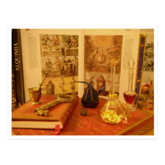 Carte Postale Alchimie postale