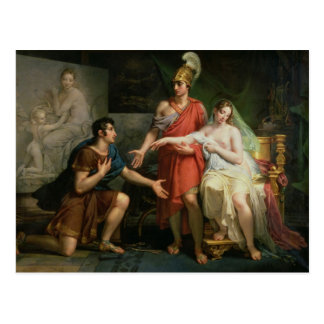 Carte Postale Alexandre le grand remet Campaspe