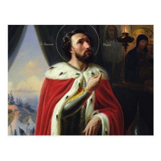 Carte Postale Alexandre Nevsky, duc de Novgorod