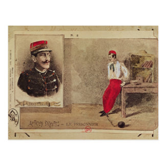 Carte Postale Alfred Dreyfus en tant que prisonnier, 1894-1906