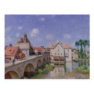 Carte Postale Alfred Sisley | le pont chez Moret