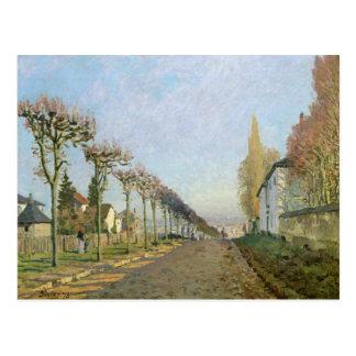 Carte Postale Alfred Sisley | Rue de la Machine, Louveciennes