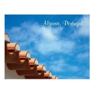 Carte postale - Algarve - détail de toit -