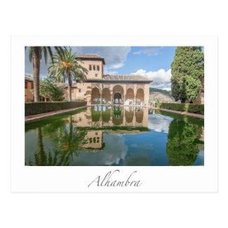 Carte Postale Alhambra Grenade Espagne