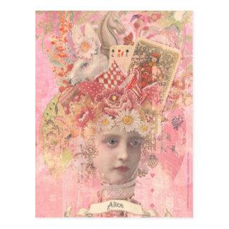 Carte Postale Alice