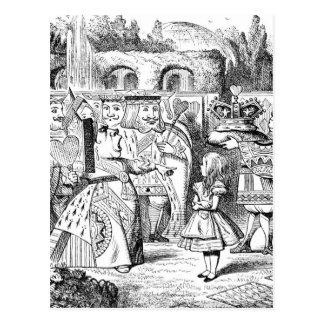 Carte Postale Alice au pays des merveilles