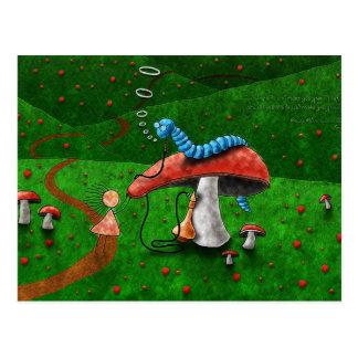 Carte Postale Alice au pays des merveilles - conseil de