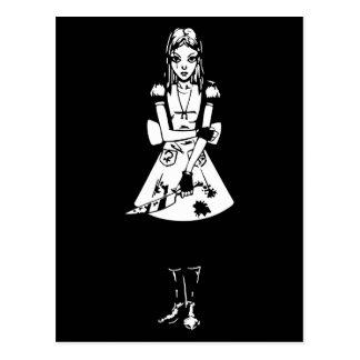 Carte Postale Alice gothique