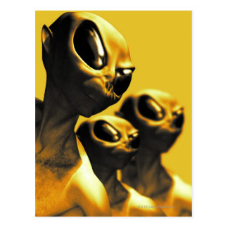 Carte Postale Aliens