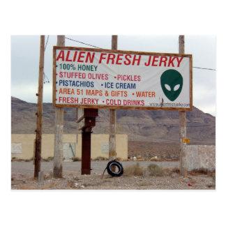 Carte Postale Aliens !