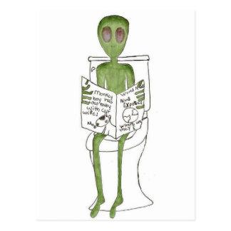 Carte Postale Aliens exposés