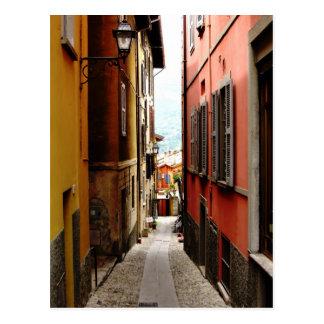 Carte Postale allée de Bellagio
