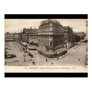 Carte Postale Allees de Tourny, cru de Bordeaux, France