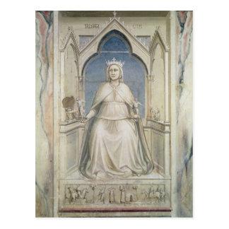 Carte Postale Allégorie de la justice, c.1305