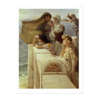 Carte Postale Alma-Tadema | chez Cradle de l'Aphrodite, 1908