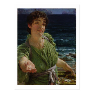 Carte Postale Alma-Tadema | Una Carita, 1883