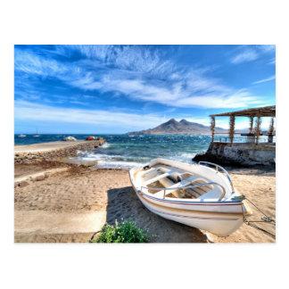 Carte Postale Almería, La Isleta Del Moro | mars Mediterráneo