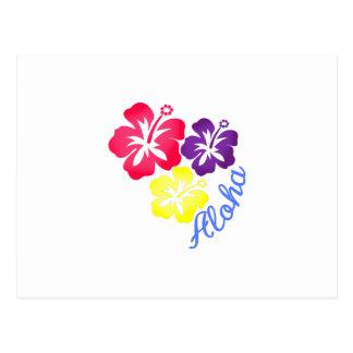 Carte Postale Aloha