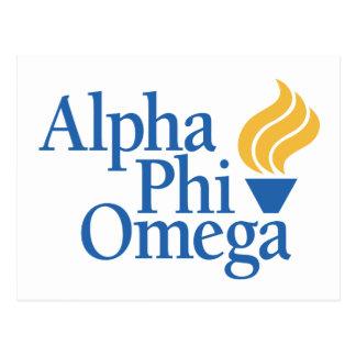 Carte Postale Alpha couleur d'Omega de phi - torche