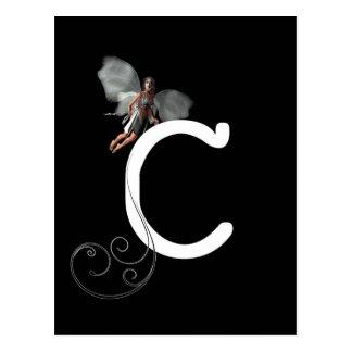 Carte Postale Alphabet féerique