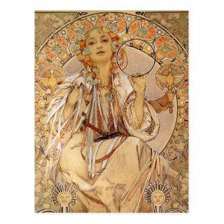 Carte Postale Alphonse Mucha - Slavia