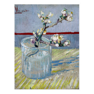 Carte Postale amande fleurissante de ressort de Van Gogh dans un