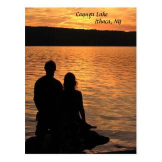 Carte Postale Amants au lac Cayuga