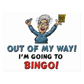 Carte Postale Amants de bingo-test
