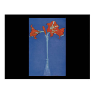 Carte Postale Amaryllis de Mondrian immédiatement