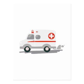 Carte Postale Ambulance d'EMT