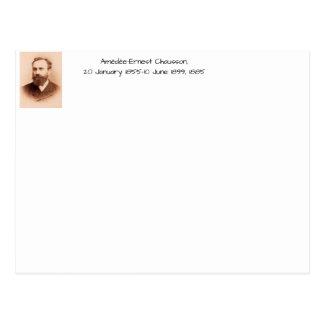 Carte Postale Amedee-Ernest Chausson