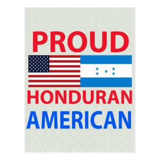 Carte Postale Américain hondurien fier