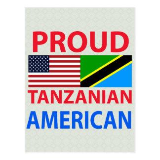 Carte Postale Américain tanzanien fier