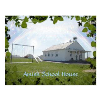 Carte postale amish, Chambre d'école. AJOUTEZ LE