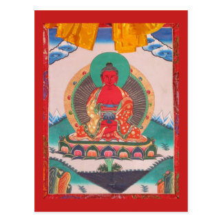 Carte Postale Amitabha Bouddha