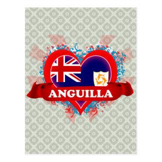 Carte Postale Amour Anguilla du cru I