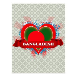 Carte Postale Amour Bangladesh du cru I