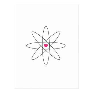 Carte Postale amour chimique