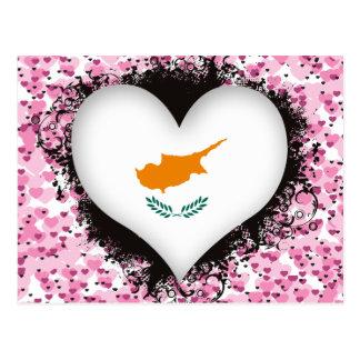 Carte Postale Amour Chypre du cru I