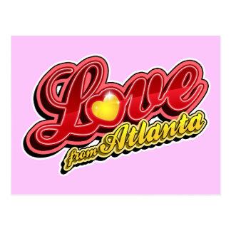 Carte Postale Amour d'Atlanta
