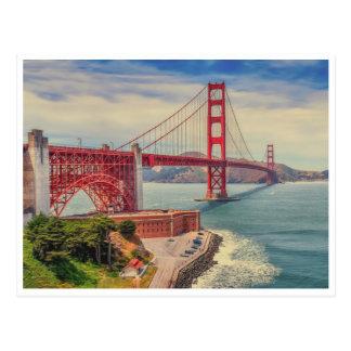 Carte Postale Amour de Golden Gate